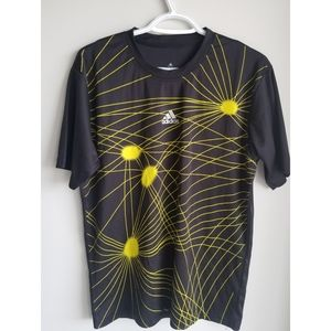 CLASSIC ADIDAS STRETCH WORKOUT ACTIVE TOP - MENS L